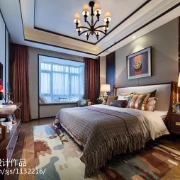 气质东南亚风格卧室装修
