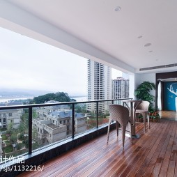现代东南亚风格阳台装修