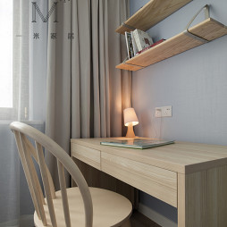 日式卧室小书房设计