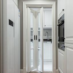 美式厨房折叠门装修