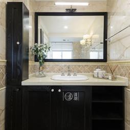 美式卫浴柜设计