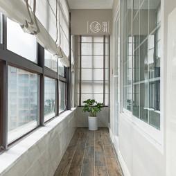 简洁美式阳台设计
