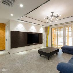 大气现代风格客厅装饰图