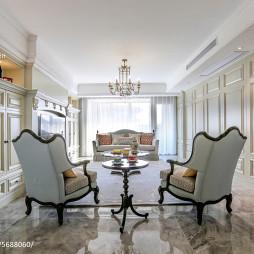 法式客厅设计效果图