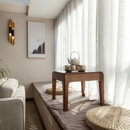 现代风格榻榻米窗台设计