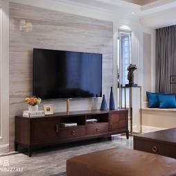 美式电视背景墙装修