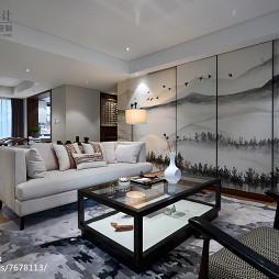 优雅中式客厅设计