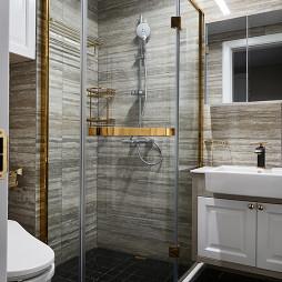 中式风格卫浴淋浴房设计