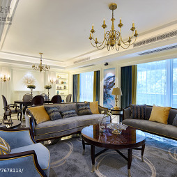 精美欧式客厅设计