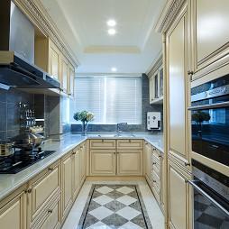 欧式米白色厨房装修