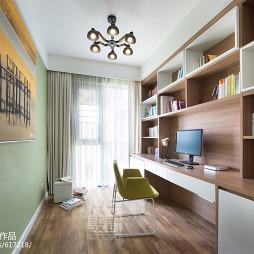 清新现代风格书房设计