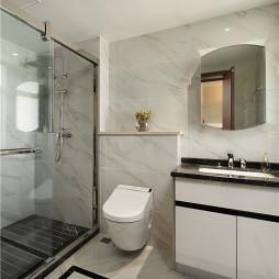 别墅现代风格卫浴设计