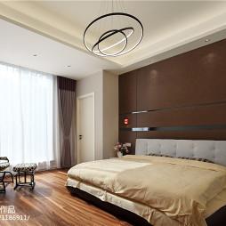 大气现代风格别墅卧室装修
