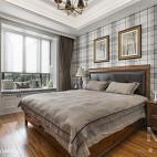 美式卧室装饰图