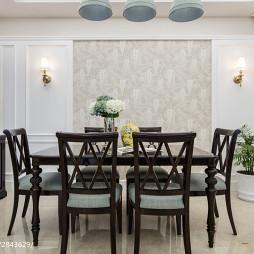 美式居家餐厅设计