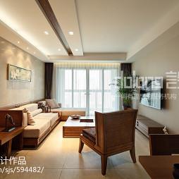 居家中式客厅设计