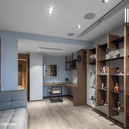 现代台湾风格书房设计