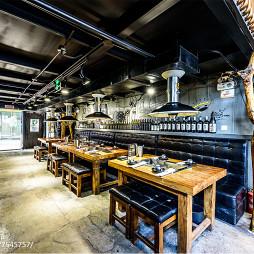 混搭风格餐厅就餐区设计