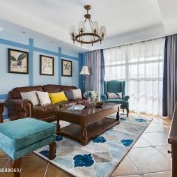 ◤美式客厅实木家具设计