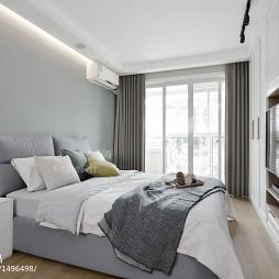 简约风格白色卧室装修