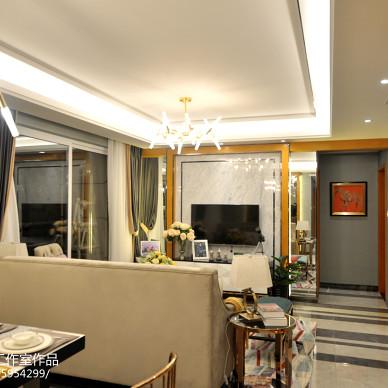 成都龙腾东麓城110平米港式样板间设计装修-艺恒规划设计工作室_2634851