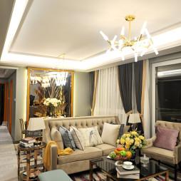 成都龙腾东麓城110平米港式样板间设计装修-艺恒规划设计工作室_2634852