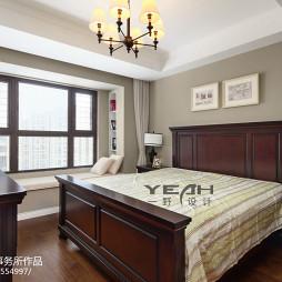简约美式卧室图片