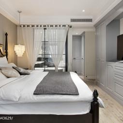 美式公寓卧室设计