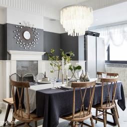 美式公寓餐厅装修