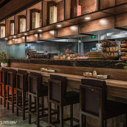 蜜柑餐厅吧台设计