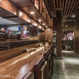 蜜柑餐厅过道设计