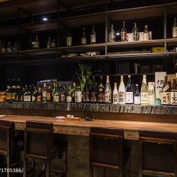 蜜柑餐厅酒柜设计