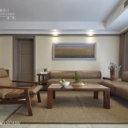 现代风格客厅皮质沙发设计