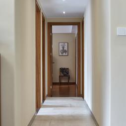 现代风格四居室过道图片