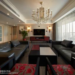 都市现代风格客厅设计案例