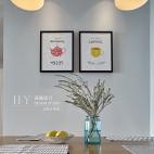 89㎡北欧清新风,厨房与餐厅之间的一扇窗让房子多了一处景_2641325