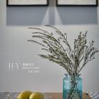 89㎡北欧清新风,厨房与餐厅之间的一扇窗让房子多了一处景_2641326