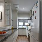 北欧清新风U型厨房设计