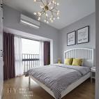 北欧清新风卧室效果图