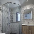 北欧清新风淋浴房设计