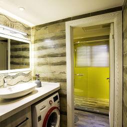 北欧风格卫浴洗衣机