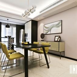 宽敞现代风格餐厅设计