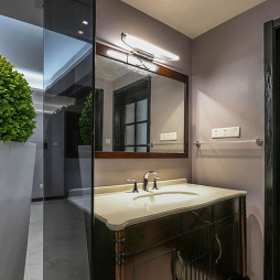 简约现代风格卫浴柜装修