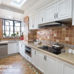 别墅美式厨房设计