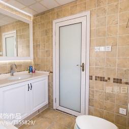 美式卫浴洗手台图片