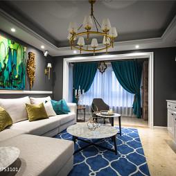 炫彩混搭风格客厅设计