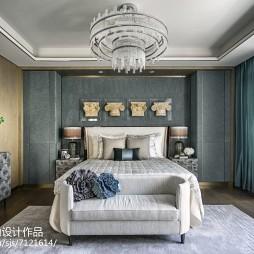 现代风格别墅卧室装修