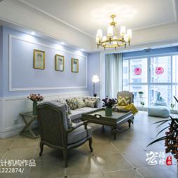 精美法式风格客厅装修