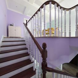 美式复式楼梯设计