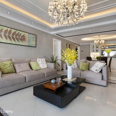 现代风格质感客厅设计